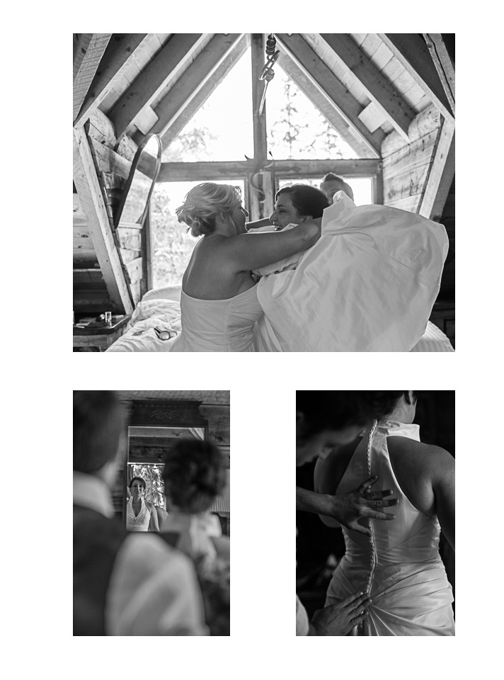 "telluride colorado wedding ""captured by karen"" ""getting ready"""