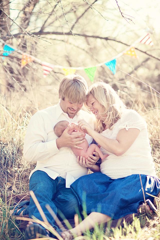 family baby newborn
